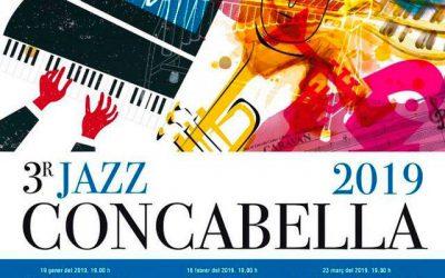 10/01/2019 Arriba la 3ª edició del Jazz Concabella