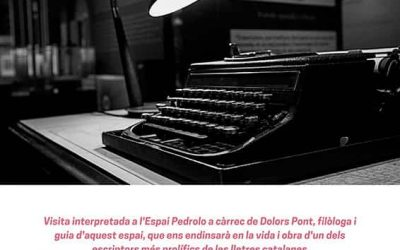 12/02/2019 Visita guiada al Espai Pedrolo