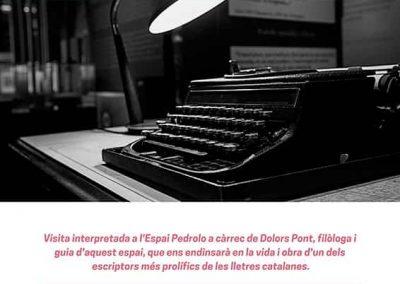 23/02/2019: Descobreix #Pedrolo!