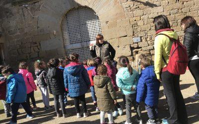 07/03/2019 L'escola Estel de Sant Guim visita el Castell de Concabella