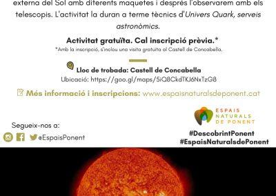 30/06/2019 Observación del cielo diurno en Plans de Sió