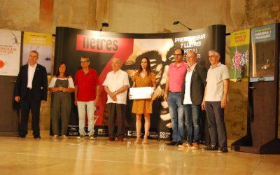 05/07/2019 Susanna Batalla, ganadora del XIV Premio 7lletres con Como lo sabeis, vosotros, que sois vivos?