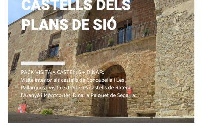 19/07/2019 Presentació de la nova ruta dels Castells dels Plans de Sió per a grups.
