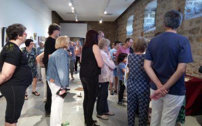 29/09/2019 Inauguració de l'Exposició: Imatges d'Albert Claramont.