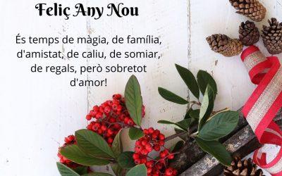 20/12/2019 Bon Nadal i Feliç Any Nou!!