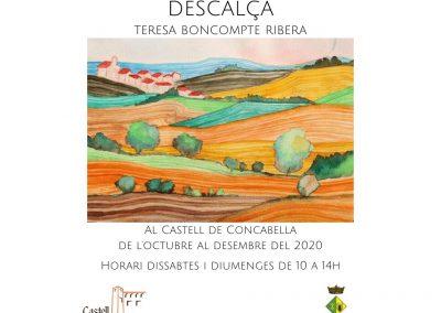 03/10/2020 Exposició d'aquarel·la i poesia 'Descalça'