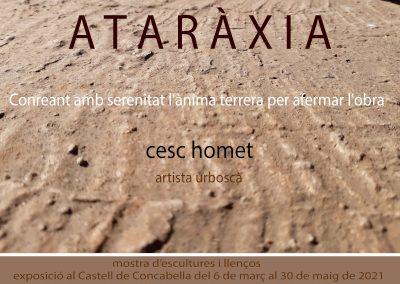04/03/2021 Exposició 'Ataràxia' de Cesc Homet