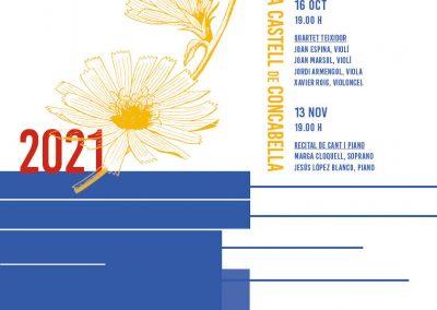 15/09/2021 XVI Festival de Música Castell de Concabella