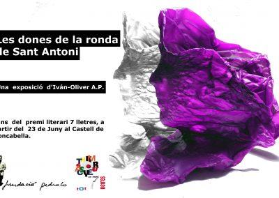 """23/06/2019 Exposició 7lletres """"Les dones de la ronda de San Antoni"""""""