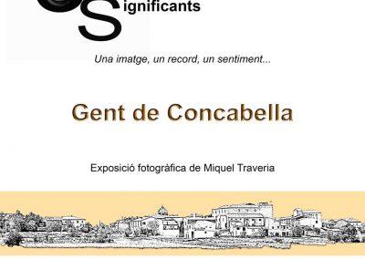 """25/01/2020 Exposició """"Gent de Concabella"""""""